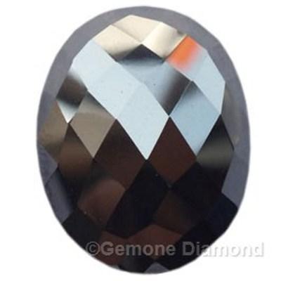 oval rose cut diamond