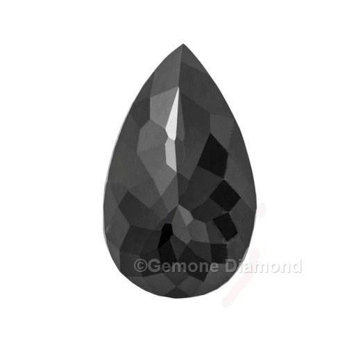 rose cut pear diamond