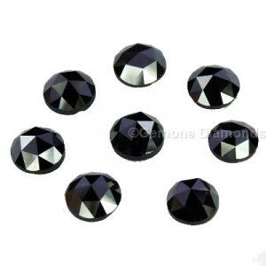 rose cut black diamonds online