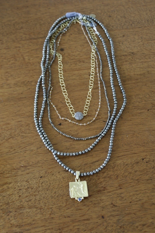 Natural Diamond Beads Necklace Size Guide