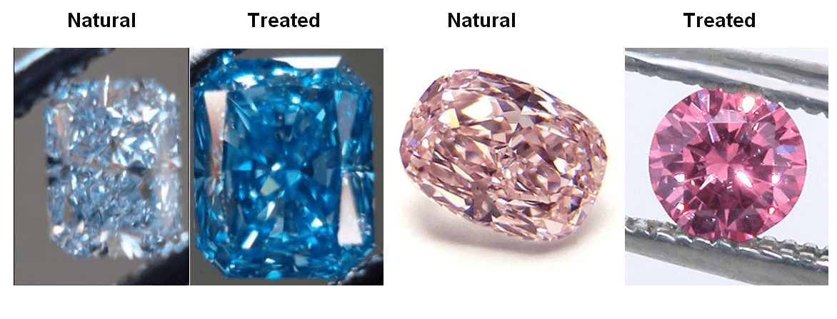 Colored Diamonds Vs Color Enhanced Diamonds Know The Difference