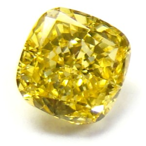 yellow greenish deep cushion diamonds brownish diamond carat fancy
