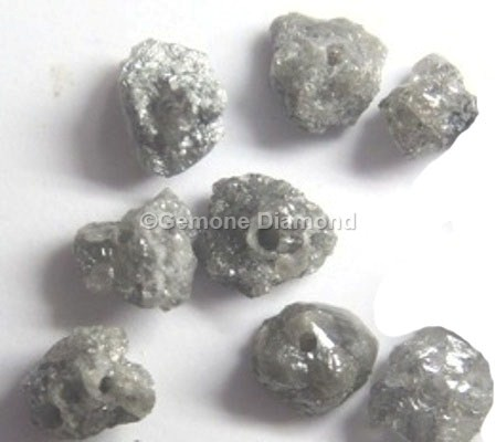 a75a871dc6bf6 1.00 Carat Gray Loose Rough Diamond Beads Wholesale For Vintage jewelry  1.00 Carat Lot Black Diamond Beads Price For Old Design Jewelry3.00 Carat  ...