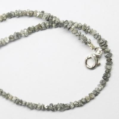 rough diamond bracelet