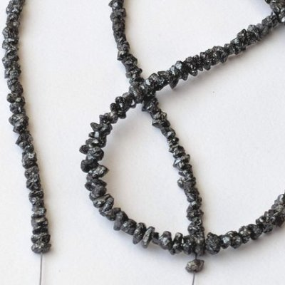 black diamond bead bracelet