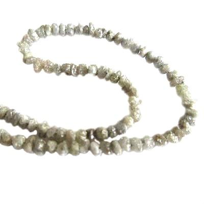 gray diamond beads