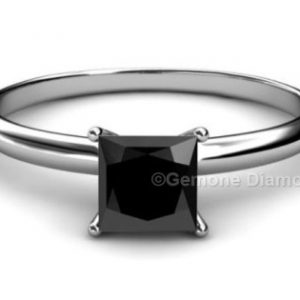 1 Carat Princess Cut Engagement Ring