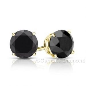 2.50 carat diamonds stud earrings