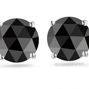 rose cut diamond stud earrings sale