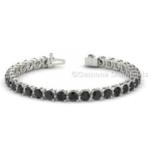 black diamond tennis bracelets