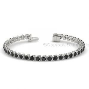 black diamond tennis bracelet sale