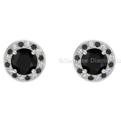 halo diamond stud earrings online