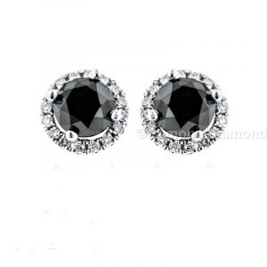 halo diamond earrings for sale
