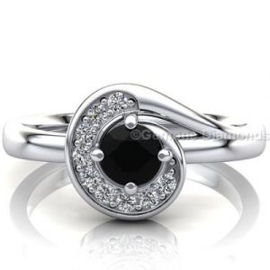 whirlwind engagement ring