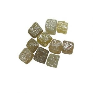 congo cube rough diamond lot
