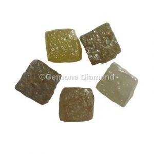 Congo cubes natural raw diamonds