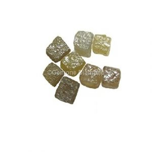 Natural Uncut Diamonds Congo Cube