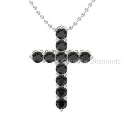 diamond chains jewelry necklace yellow cross quality gold products