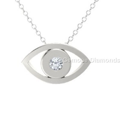 White gold evil eye pendant in 14k white gold for spiritual lovers gorgeous white gold evil eye pendant 14k with white diamond stunning evil eye pendant necklace in 14k yellow gold with black diamondnice 14k yellow gold aloadofball Images