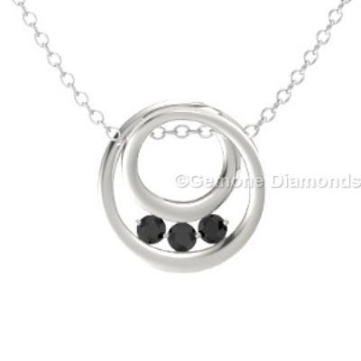 inner circle necklace pendant