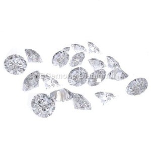 real round cut diamonds