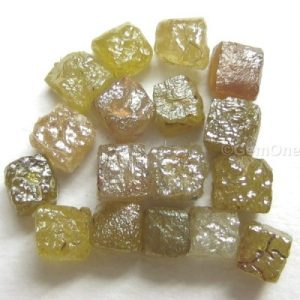 Natural Uncut Congo Cube Diamonds