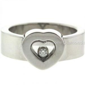 happy heart diamond ring