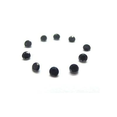 AAA quality calibrated black diamonds 5 carats