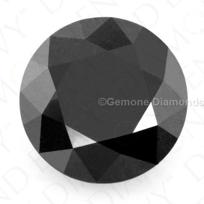 loose calibrated black diamonds lot