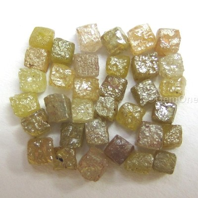 raw uncut natural rough diamonds