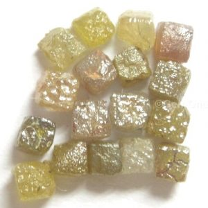 lot natural rough raw diamond