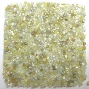 lot of uncut rough diamond