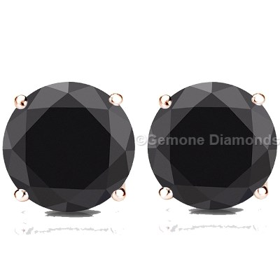 screwback zirconia bling cubic studs back cubiczirconia diamond sterling earrings roundblack stud dk az post screw black jewelry