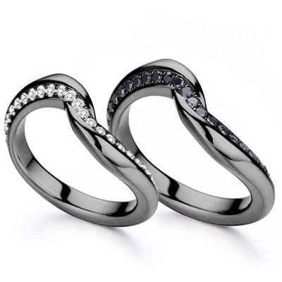 2ct couple promise ring