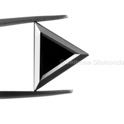 triangle shape black diamond