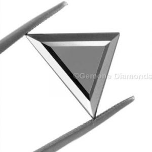 triangle cut black diamond