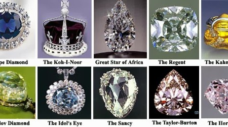 Top 10 Famous Diamonds