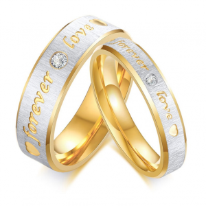promise ring for couple
