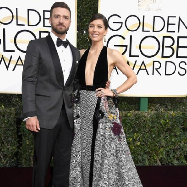 Jessica Biel The Golden Globes 2017 Best Jewelry Moments