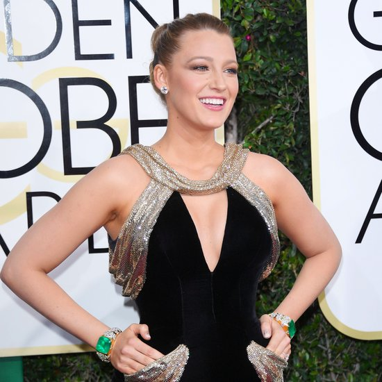 Blake Lively The Golden Globes 2017 Best Jewelry Moments