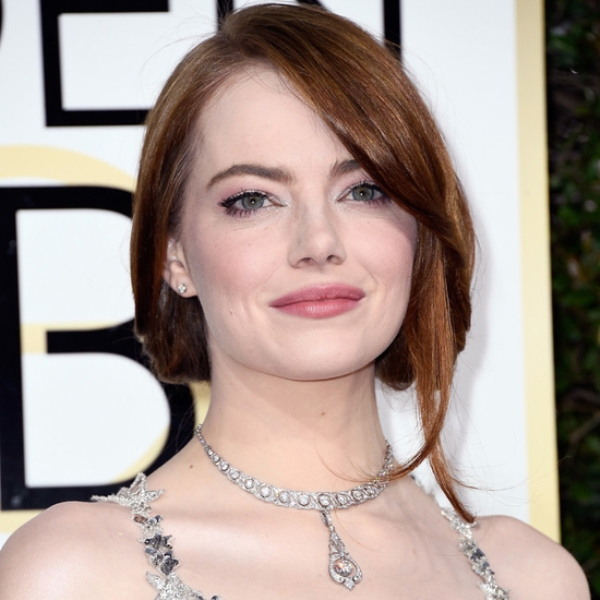 Emma Stone Golden Globes 2017 Best Jewelry Moments