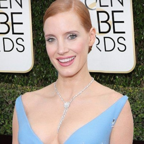 Jessica Chastian Golden Globes 2017 Best Jewelry Moments