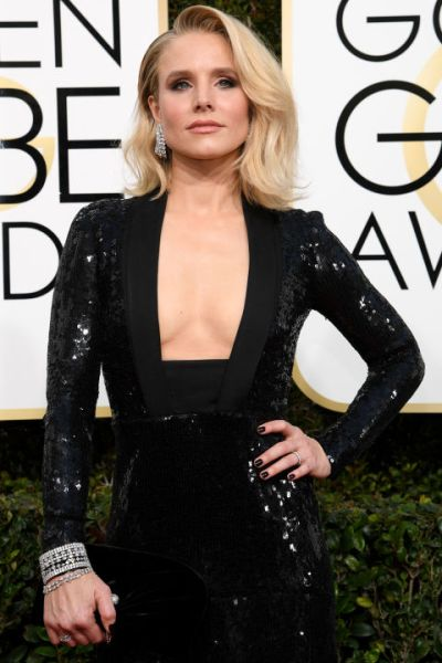 Kristen Bell The Golden Globes 2017 Best Jewelry Moments