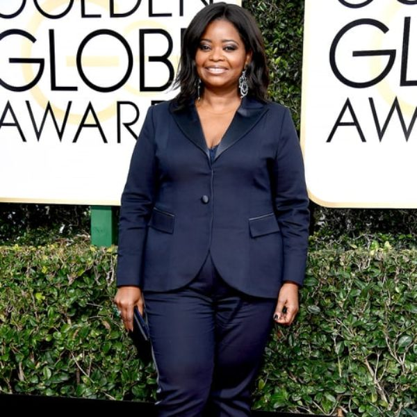 Octavia Spencer The Golden Globes 2017 Best Jewelry Moments