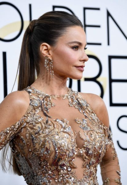Sofia Vergara The Golden Globes 2017 Best Jewelry Moments