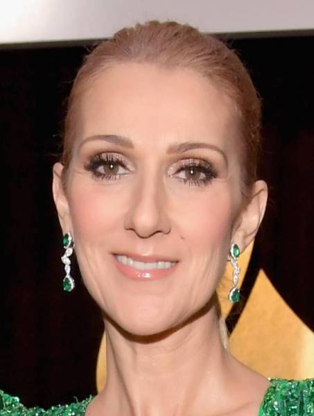 celine dion emerald earrings Best Grammy Jewelry Moments 2017