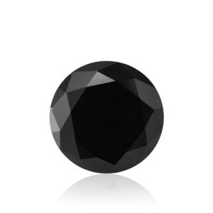 brilliant cut black diamond