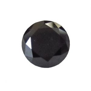 Loose Solitaire Natural Black Diamond