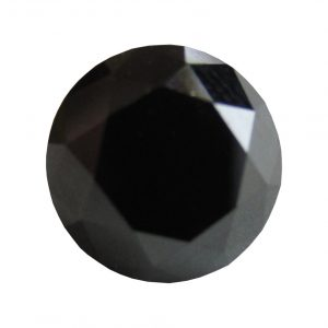 loose black diamond brilliant cut