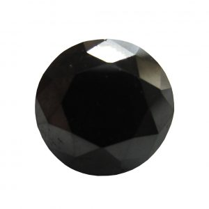 black brilliant cut loose diamond